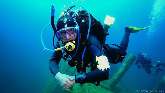 Diving in Spain, Palamos Town To Cap De Begur - By Brunon